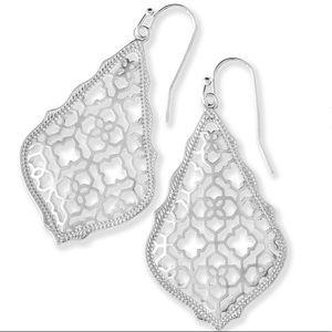 Addie Silver Filigree Earrings
